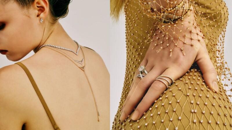 HEARTS ON FIRE X Hayley Paige聯名珠寶許妳一場閃亮亮聖誕派對!台灣限定款Y字鍊與新款項鏈、戒指,單戴或疊搭都超美!