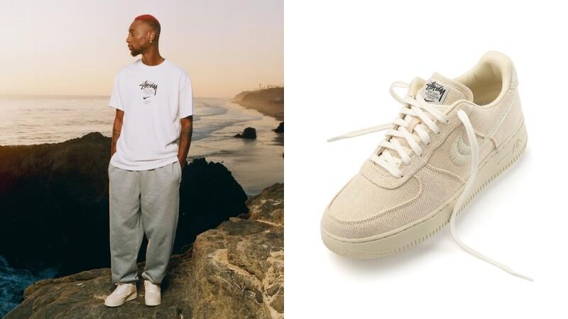 Nike X Stüssy聯名球鞋Air Force 1台灣將開賣!還有大學T、羽絨外套、拖鞋、毛帽