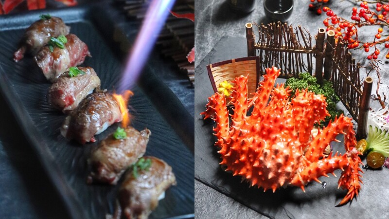 炙燒和牛握壽司吃到飽!凱撒大飯店「日本美食節」登場,生魚片、螃蟹、爐烤牛排等80道美食大快朵頤
