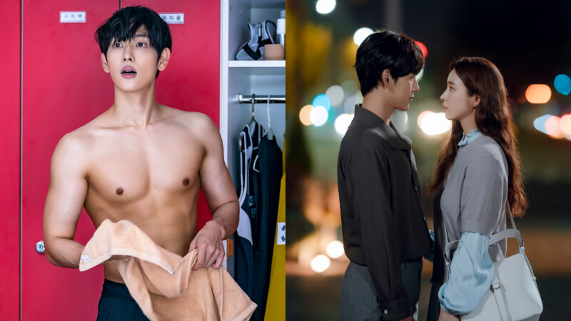 韓劇《奔向愛情》任時完脫了!化身田徑界明星大秀養眼腹肌,與申世景上演浪漫愛戀