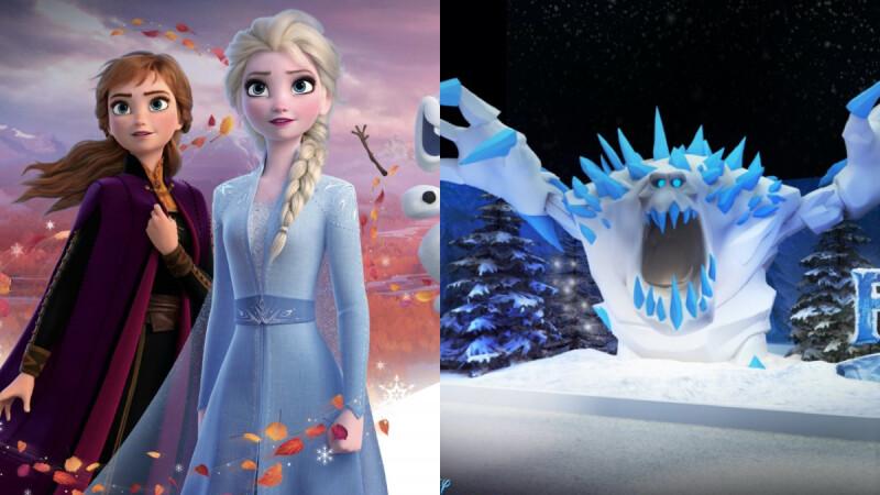 《冰雪奇緣夢幻特展》12月魔幻開展!還原經典電影場景,還有5公尺高超巨型雪怪震撼坐鎮