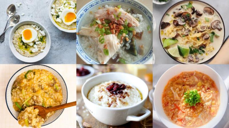 冬日暖胃早餐!6道燕麥鹹粥食譜 低卡低GI,用燕麥來代替白飯更有飽足感!