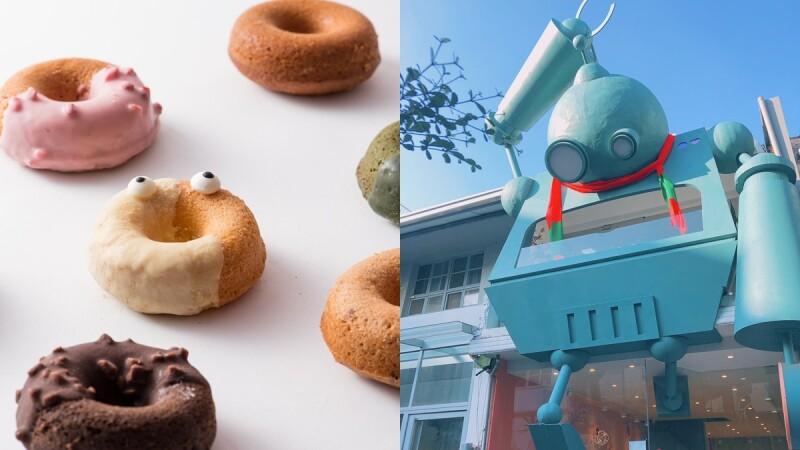 【台中西區】《一支毛》必訪超可愛氣泡飲專賣店!綠色巨型機器人坐鎮,推出2020年末客製化「圈圈禮盒」