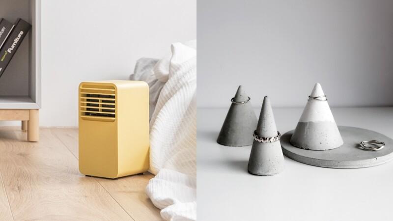 用Pantone 2021代表色提升居家質感!「亮麗黃」陶瓷電暖器、「極致灰」擴香石⋯療癒到必須入手