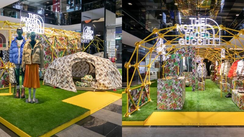 Gucci X The North Face聯名系列打造野營風快閃店!還有寶可夢小驚喜、販售單品售價出爐