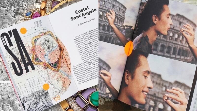 時髦度最高的旅遊書!跟著寶格麗Bulgari玩羅馬、看懂珠寶知識與時尚攝影