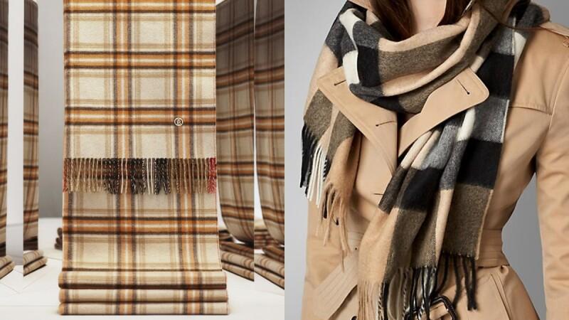 Burberry除了經典風衣外,賣翻天的明星商品還有它!格紋圍巾紅遍半世紀的5大原因告訴你