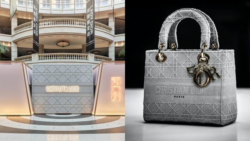 Dior限時快閃店這處登場!把Lady Dior包包變成店舖設計,還有免費的Line動態貼圖能下載