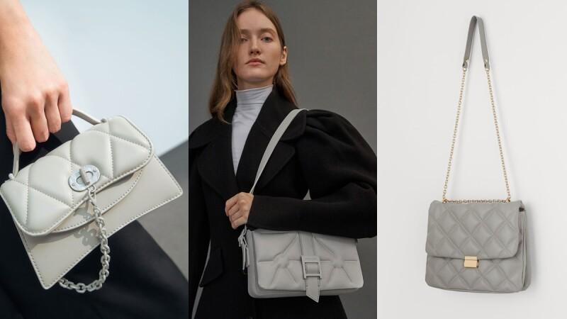 Pantone代表色極致灰包包推薦!盤點5款肩背袋、斜背包,親民售價最低不用一千
