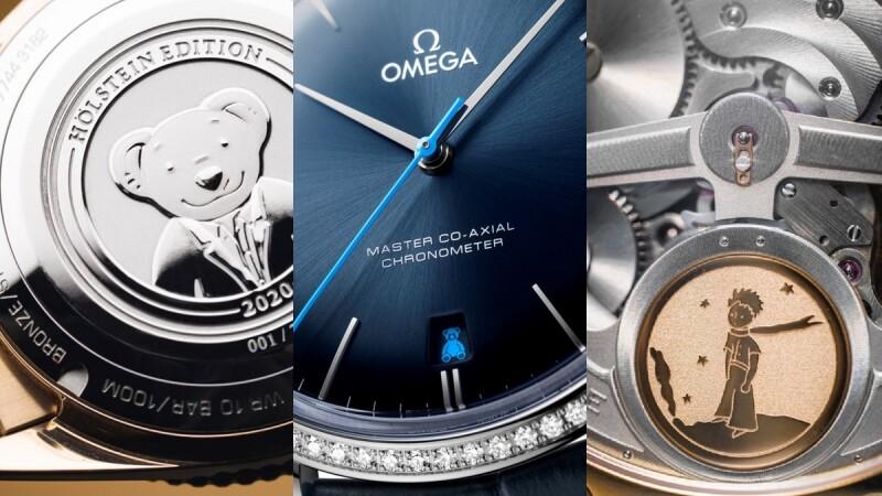 可愛力量大!Oris小熊、Omega史努比、IWC小王子、LV吉祥物Vivienne、Hublot村上隆…盤點萌系珠寶與手錶
