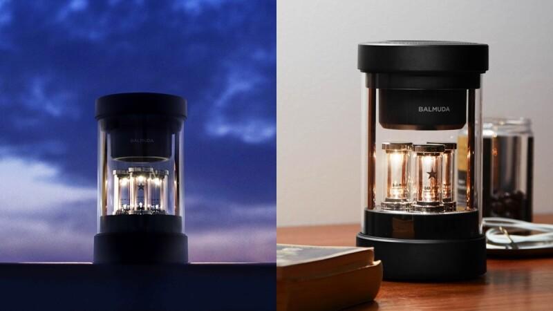 日系神級家電Balmuda首款藍牙音響The Speaker登台!真空管暖光會隨著音樂閃爍、360度立體音效如臨演唱會現場