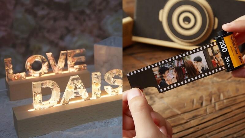 2021情人節禮物來這挑!Pinkoi推薦五大專屬客製化禮物,害羞告白就靠永生花夜燈、霓虹燈管替你說愛