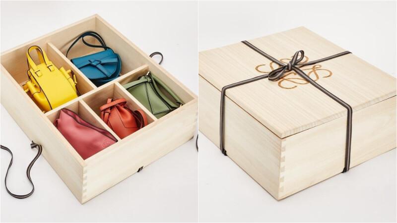 小包控尖叫!Loewe即將推出迷你經典包禮盒,Puzzle拼圖包、Hammock吊床包、Gate馬鞍包...一次收齊5大暢銷款