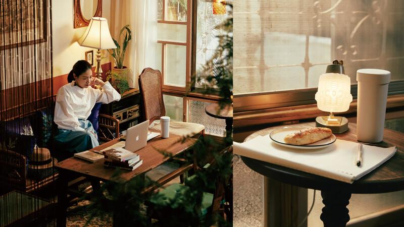 她的圖書館|陳列設計師 Lsy sophie—閱讀或許是串聯平行時空的通道