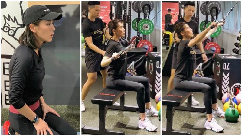 【Cable機上半身初階訓練】胸、背、核心運動練起來|小禎愛健身#4