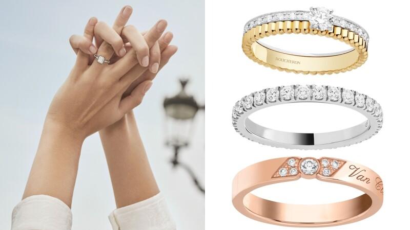 2021年新款訂婚鑽戒、結婚對戒、售價一次看!Boucheron、VCA、HW…夢幻精品牌都在此(持續更新