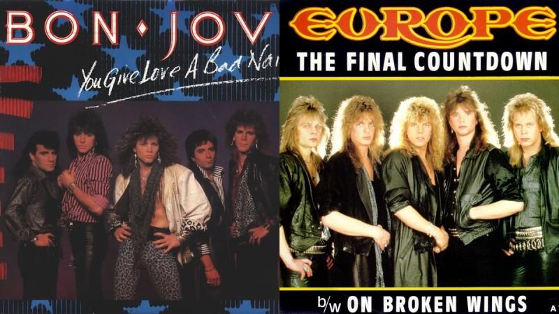 《天橋上的魔術師》中80年代歐美樂壇搖滾樂團硬起來!重金屬、硬式搖滾狂飆高音與顏值
