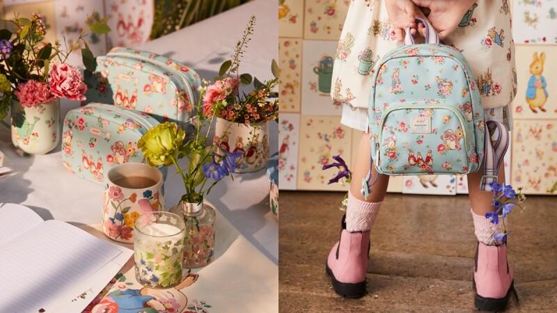 Cath Kidston攜手比得兔推出聯名包包、家居用品、嬰兒服...全系列品項帶你一次看
