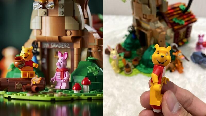 維尼粉必須擁有!樂高打造「小熊維尼百畝森林」盒裝積木,小豬、跳跳虎樹屋開趴,宛如走進童話故事中