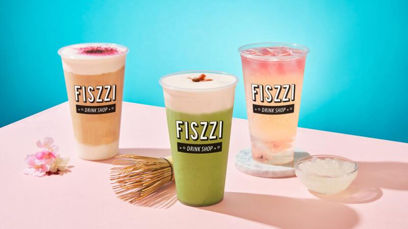 用喝的櫻花!FISZZI費滋氣泡飲專賣店推出3款櫻花飲品,自帶仙氣的絕美系飲品登場