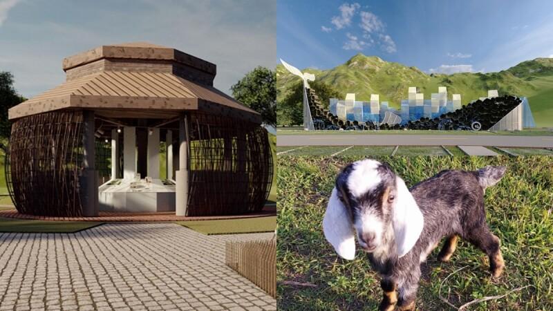 2021宜蘭綠色博覽會3/27起跑!近30個裝置藝術展區搶先看,巨型藍鯨、滑草坡必朝聖,還有可愛動物餵食