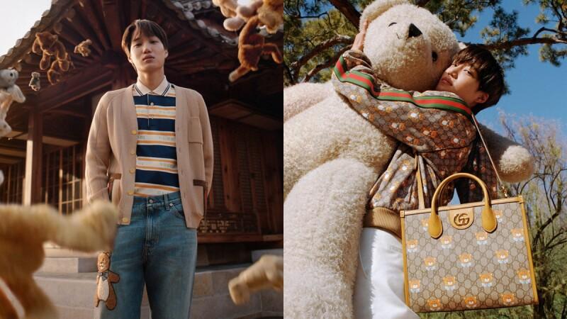 敲碗已久Kai x Gucci聯名系列這處開賣!把最愛的泰迪熊打造成水桶包、相機包、漁夫帽…販售品項、售價這裡看