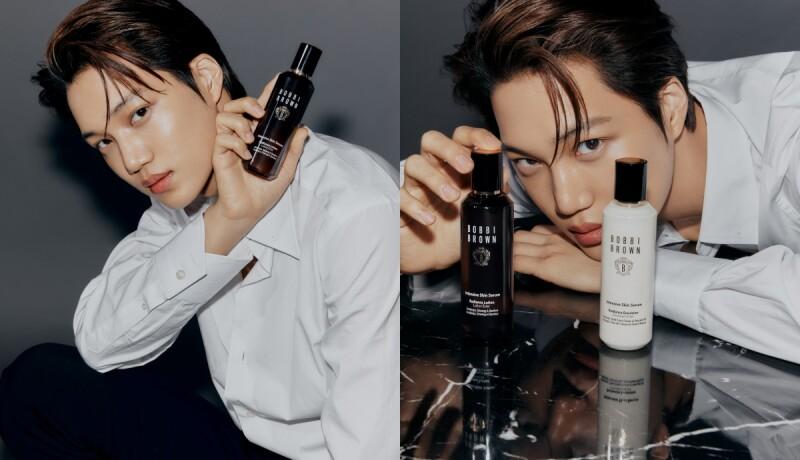 韓星太強!韓國大勢男團EXO KAI成為Bobbi Brown首位亞太區品牌大使