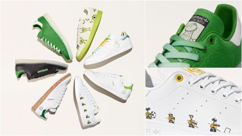 迪士尼迷尖叫!adidas Originals Stan Smith大舉推出抱抱龍、大眼仔、瓦力…7種聯名鞋款,商品細節+售價一次看