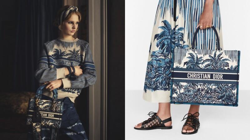 Dior Tote托特袋、Lady Dior包換上棕櫚樹印花!充滿春夏渡假氛圍的Dior Palms系列5大亮點單品帶你看