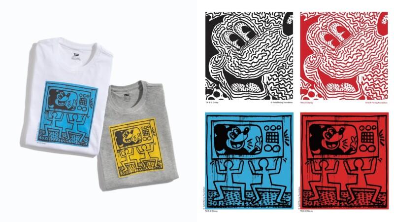 Levi's X Disney X Keith Haring三方聯名系列重磅登場!打造專屬的俏皮米奇T-Shirt、牛仔褲…販售店鋪、品項這篇有