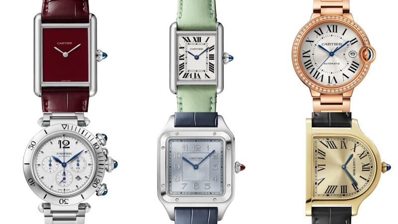 Cartier 2021年新錶完整情報看這一篇!卡地亞手錶入門系列Tank Must、Balloon Bleu藍氣球新尺寸、Pasha推出計時款、Santos限量錶…
