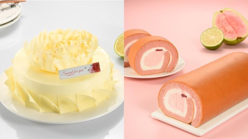 夢幻粉紅生乳捲來了!亞尼克推「紅心芭樂生乳捲」,還有5款母親節蛋糕推薦大公開