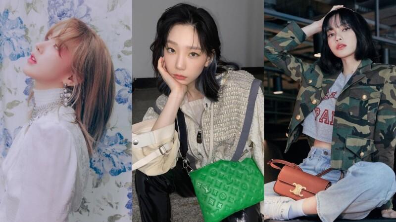2021春夏中短髮造型範本,Wendy、Lisa、太妍示範,瀏海搭配、耳下層次最修飾!