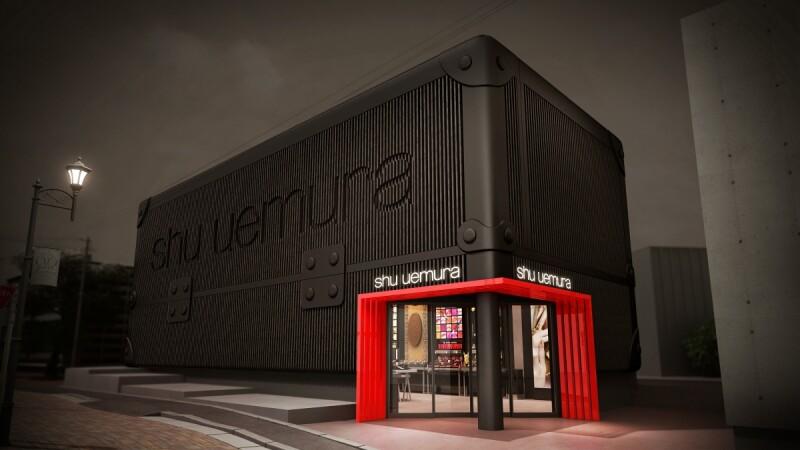 植村秀巨型化妝箱Shu Tokyo Makeup Box全球旗艦店2021日本表參道盛大開幕,獨家個人調色、一對一彩妝、清洗刷具、限定版商品完整公開
