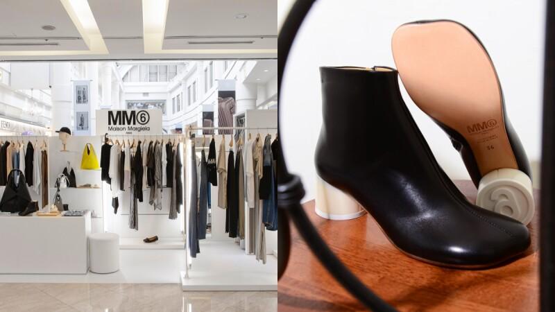 MM6 Maison Margiela全白極簡快閃店再度登台!6號圈圈藏在鞋跟細節太可愛,微風官網同步開放購買