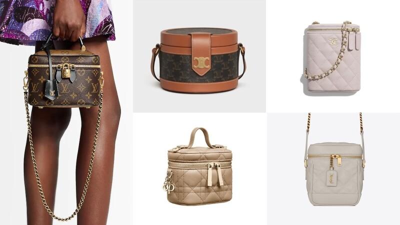 精品化妝箱包正夯!LV老花、CELINE復古、Chanel菱格紋、YSL氣質、Dior迷你…每一款都超難買