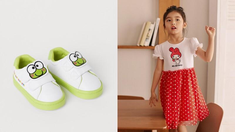 H&M X 三麗鷗聯名系列即將開賣!把Hello Kitty、酷企鵝、美樂蒂穿上身,與家中小寶貝換上可愛親子裝