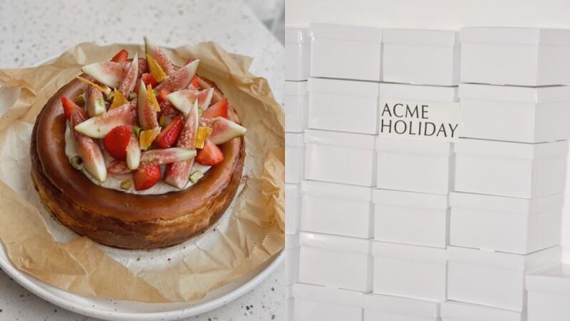 季節限定!ACME推全新「無花果覆盆子巴斯克蛋糕」,酸甜果香與濃郁乳酪交織,是媽媽也會愛的療癒系蛋糕