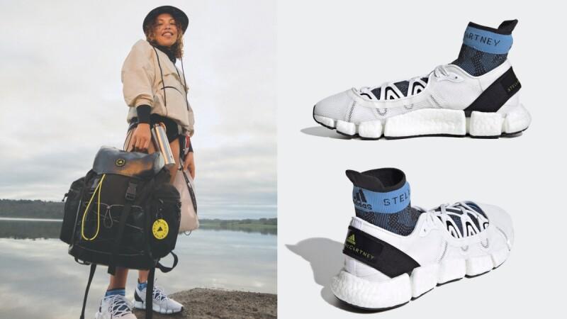 adidas by Stella McCartney海洋友善系列推薦單品:一鞋兩穿的運動涼鞋、比基尼、防風夾克...夏日穿搭必備!