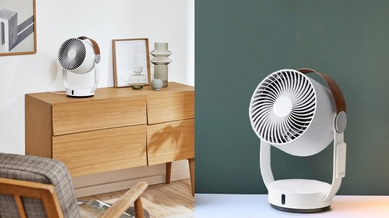 炎夏必備!瑞士家電Stadler Form推出3D循環扇,全方位送風、簡約美型設計,空間降溫、質感一次到位
