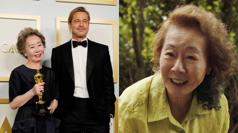 尹汝貞受封「韓國梅莉史翠普」!73歲國民阿嬤也迷布萊德彼特,獲獎謙虛表示:「我只是運氣比較好。」