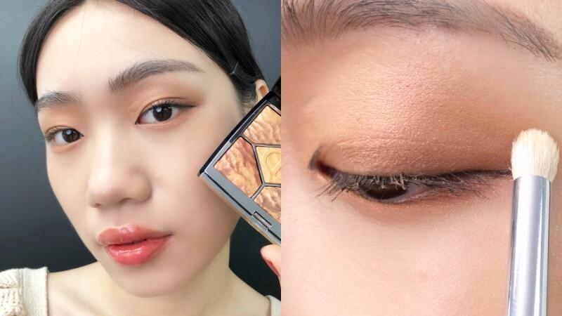 原來單眼皮也能畫出混血感眼妝!彩妝師親授眼影畫法關鍵3點,學起來一秒放大眼睛