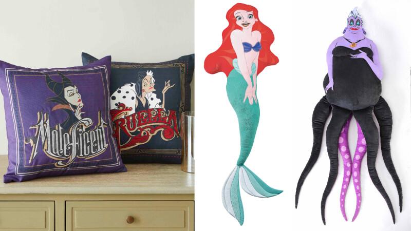 烏蘇拉、小美人魚該選誰?HOLA首度推出「迪士尼公主與反派」聯名,庫伊拉、黑魔女等40個品項逼人荷包破洞