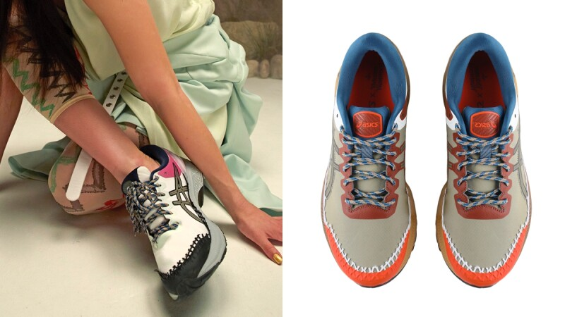 Asics X Vivienne Westwood五度推出聯名運動鞋!撞色+異材質拼接設計,全台只有這兩處買得到