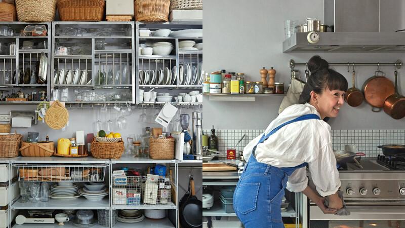 世界上最美好的地方—廚房|非典型的絕美廚房,Grace:「廚房應該就是可以跟喜歡的人分享快樂的地方。」