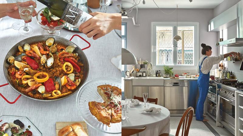 世界上最美好的地方—廚房|Grace 的拿手菜—西班牙海鮮飯 Paella