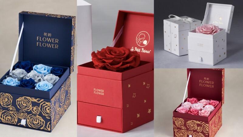 母親節花束推薦!Flower Flower花的打造絕美的限量珠寶盒玫瑰花禮,絕對讓媽媽心花朵朵開