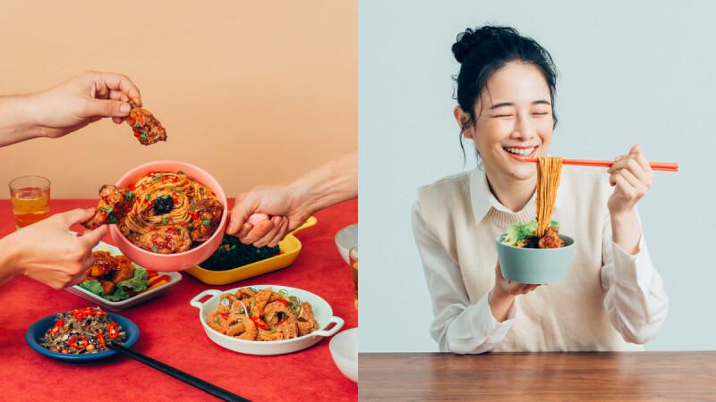 金豐盛X水哦 新產品「蒜香豆瓣辣雞麵」上市了,美味與方便兼具的超豪華拌麵!