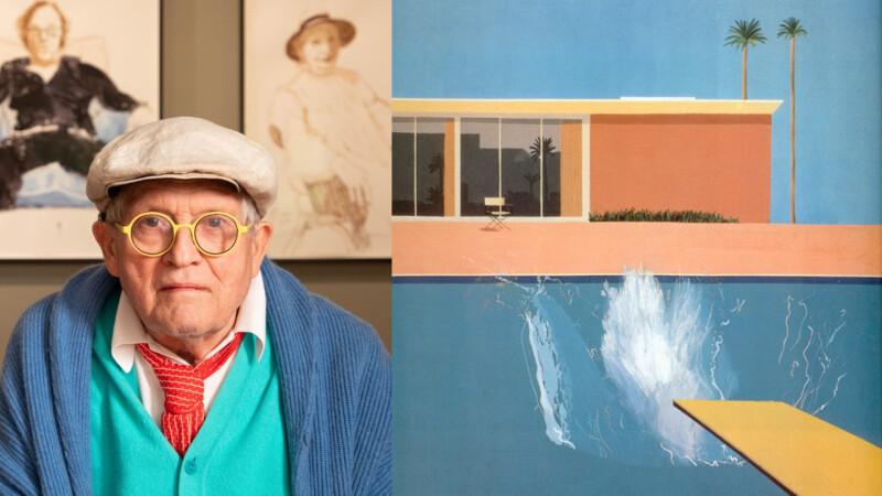 春光、泳池、愛與慾——英國藝術教父大衛・霍克尼(David Hockney)的7個關鍵字