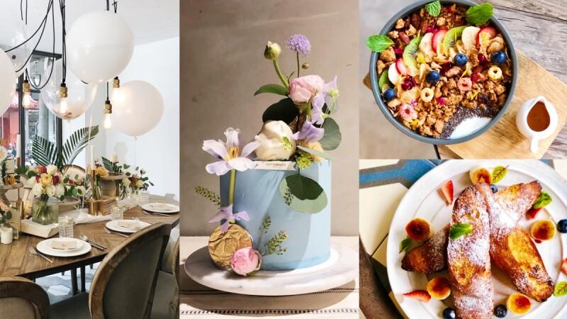 早午餐控快衝!September Café推4款夏日限定早午餐、甜點,還有鮮花系母親節蛋糕絕美登場